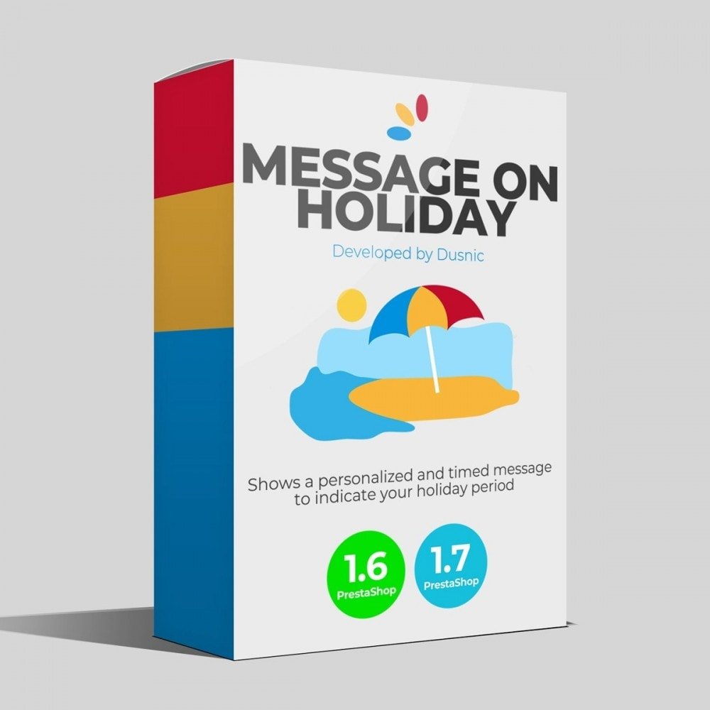 module - Customer Service - Message on Holiday - 1