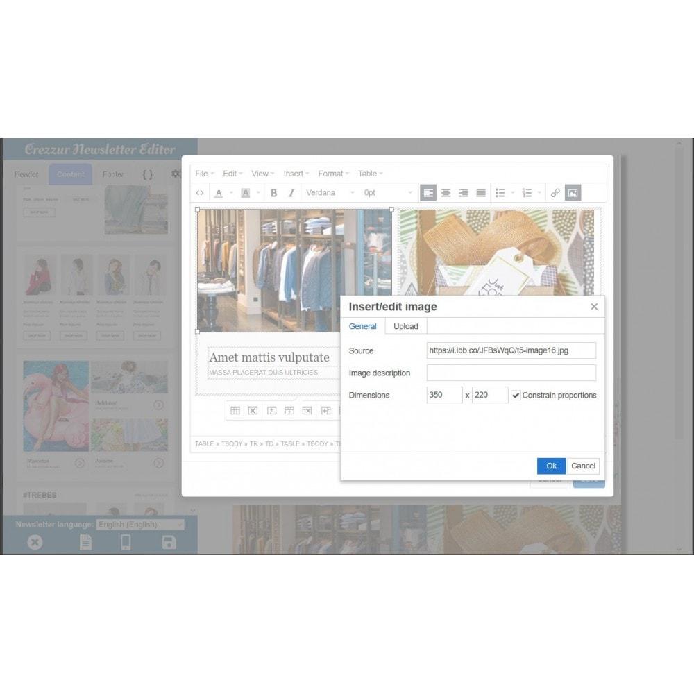 module - Nieuwsbrief & SMS - Nieuwsbrief Ontwerpen En Versturen - Drag & Drop - 5