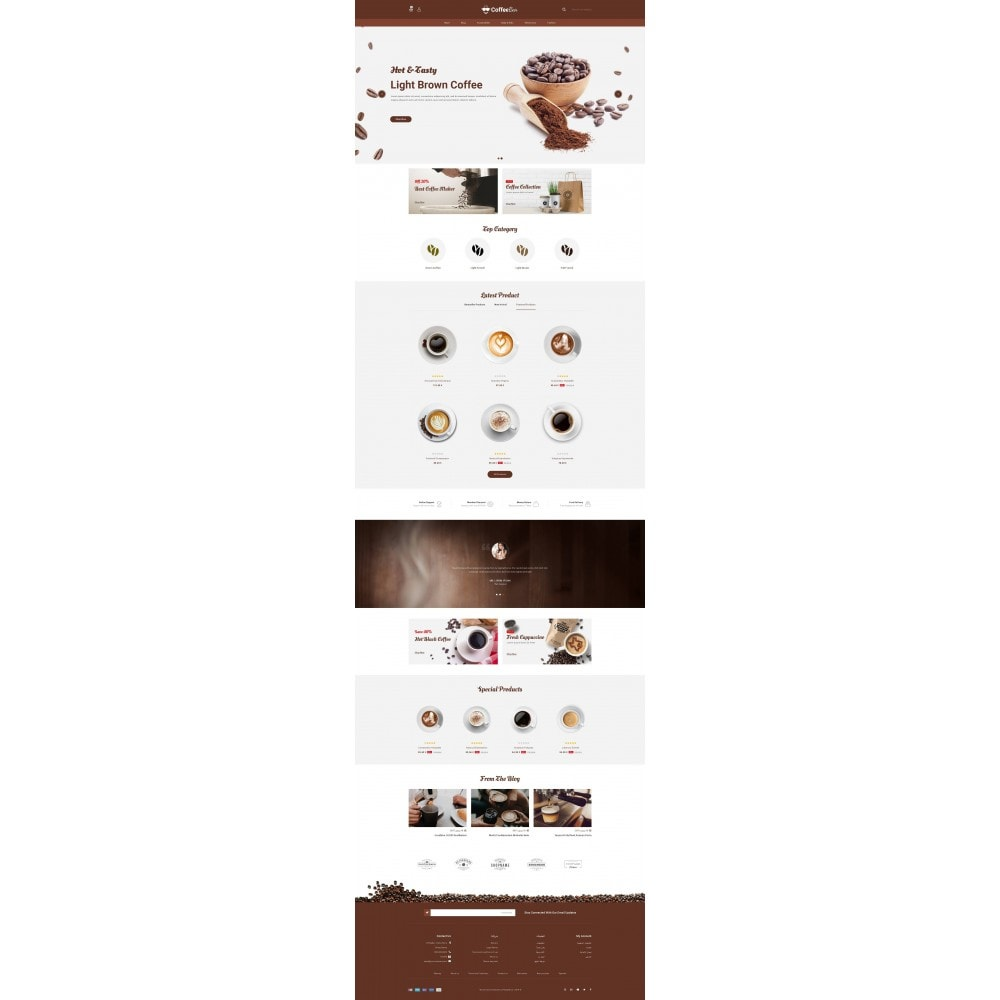 theme - Alimentation & Restauration - The Coffee Shop - 10