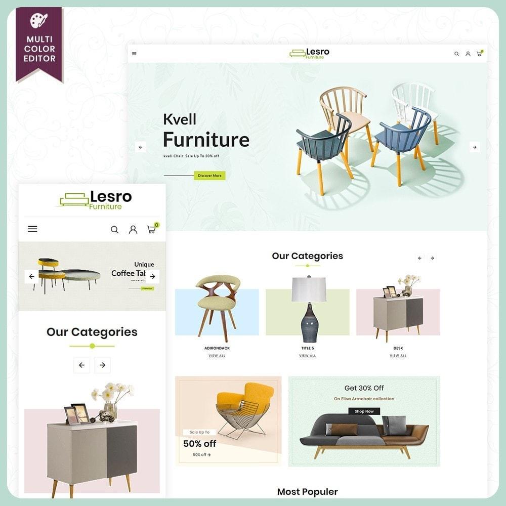 theme - Casa & Giardino - Wood Lesro - Mobilia Store - 1