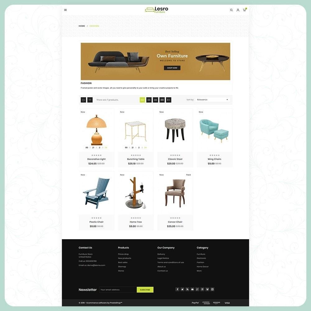 theme - Casa & Giardino - Wood Lesro - Mobilia Store - 3