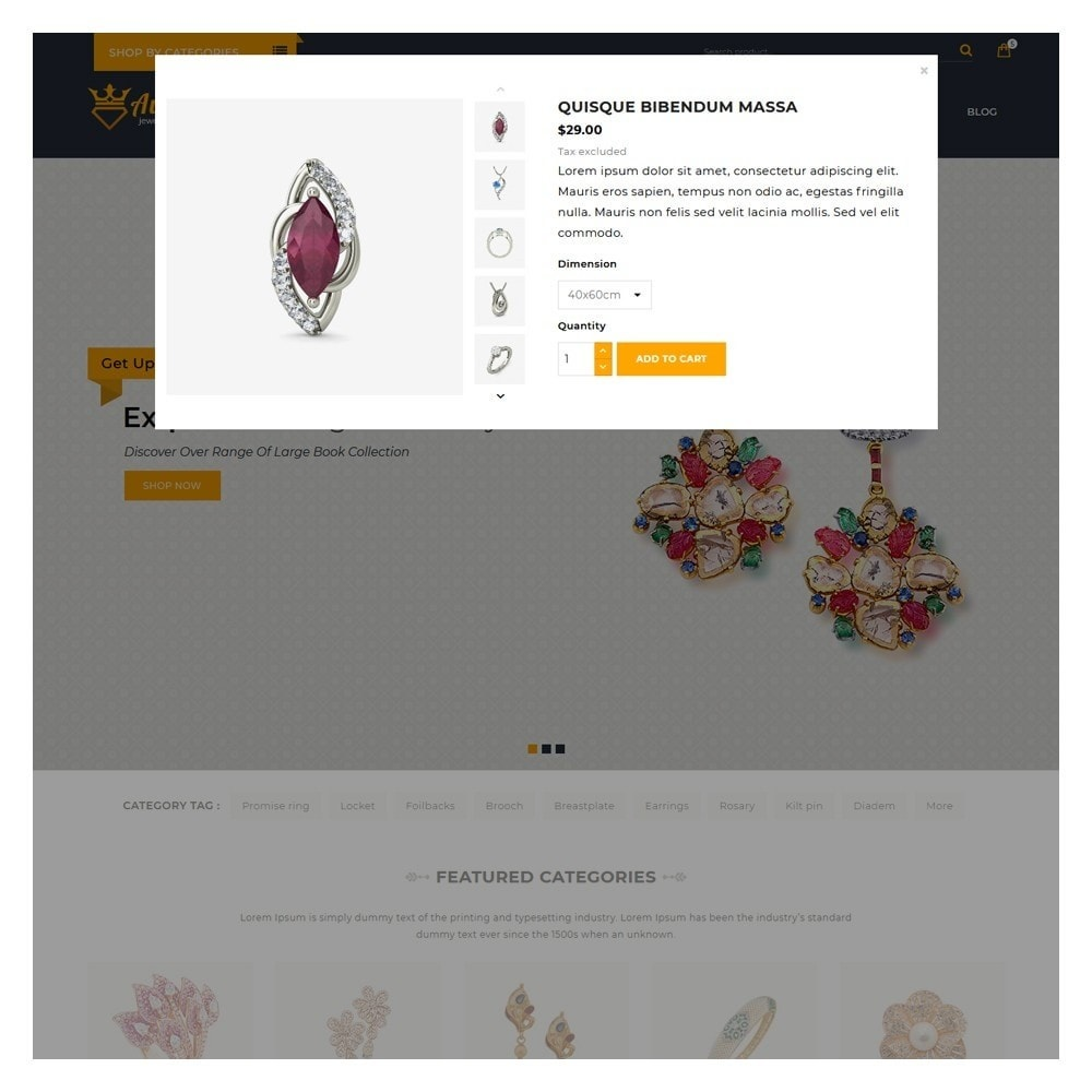 theme - Jewelry & Accessories - Aurea The Jewellery Store - 6