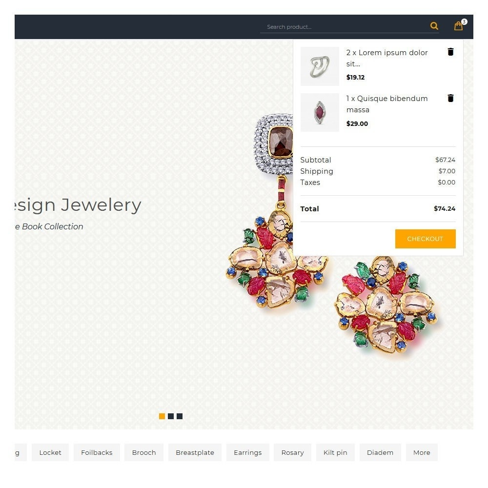 theme - Jewelry & Accessories - Aurea The Jewellery Store - 8