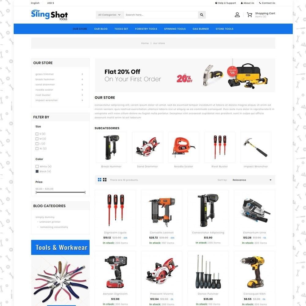theme - Auto & Moto - Slinshot - Le magasin d'outils - 4