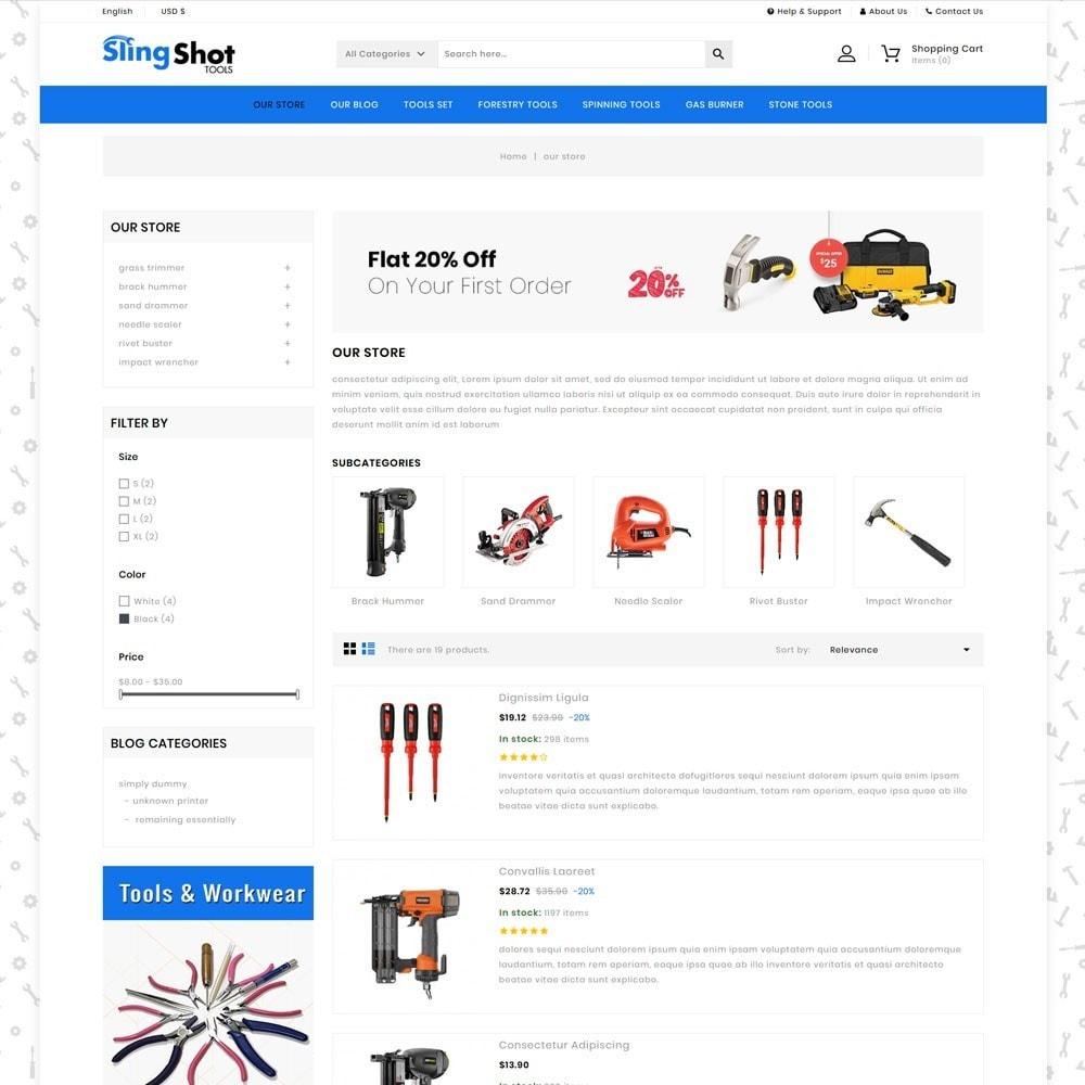 theme - Auto & Moto - Slinshot - The Tool Store - 5