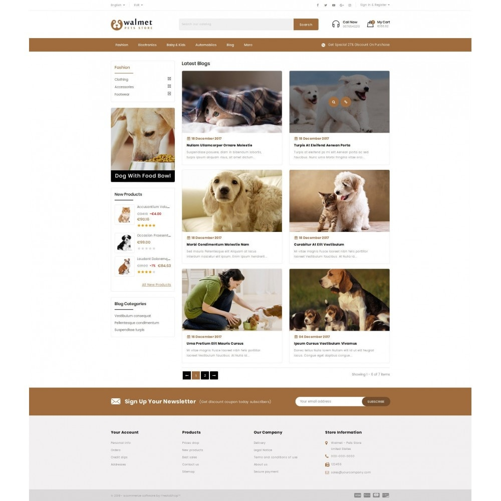 theme - Animals & Pets - Walmet - Pets Store - 9