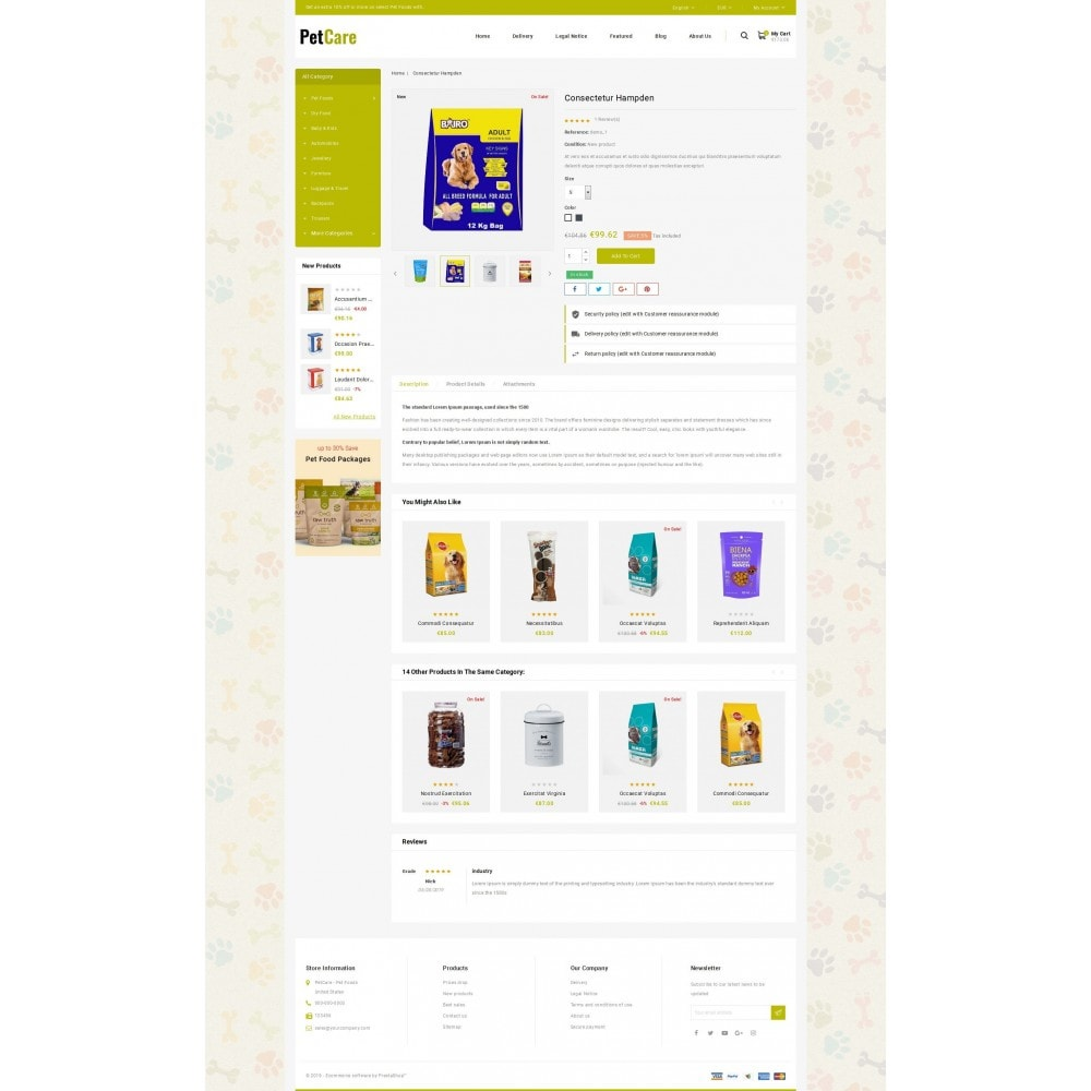 theme - Animaux - Petcare - Pets Food Store - 5