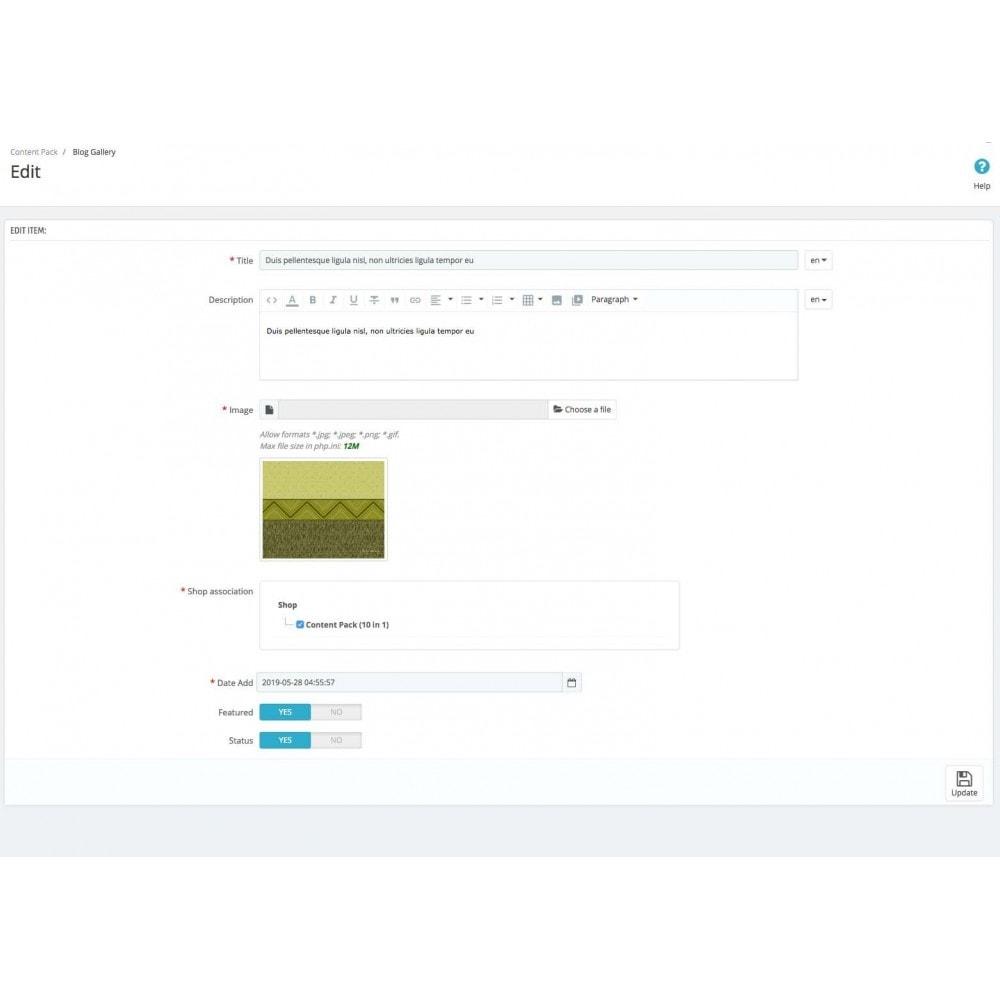 module - Gestion de contenu - Content management - 67