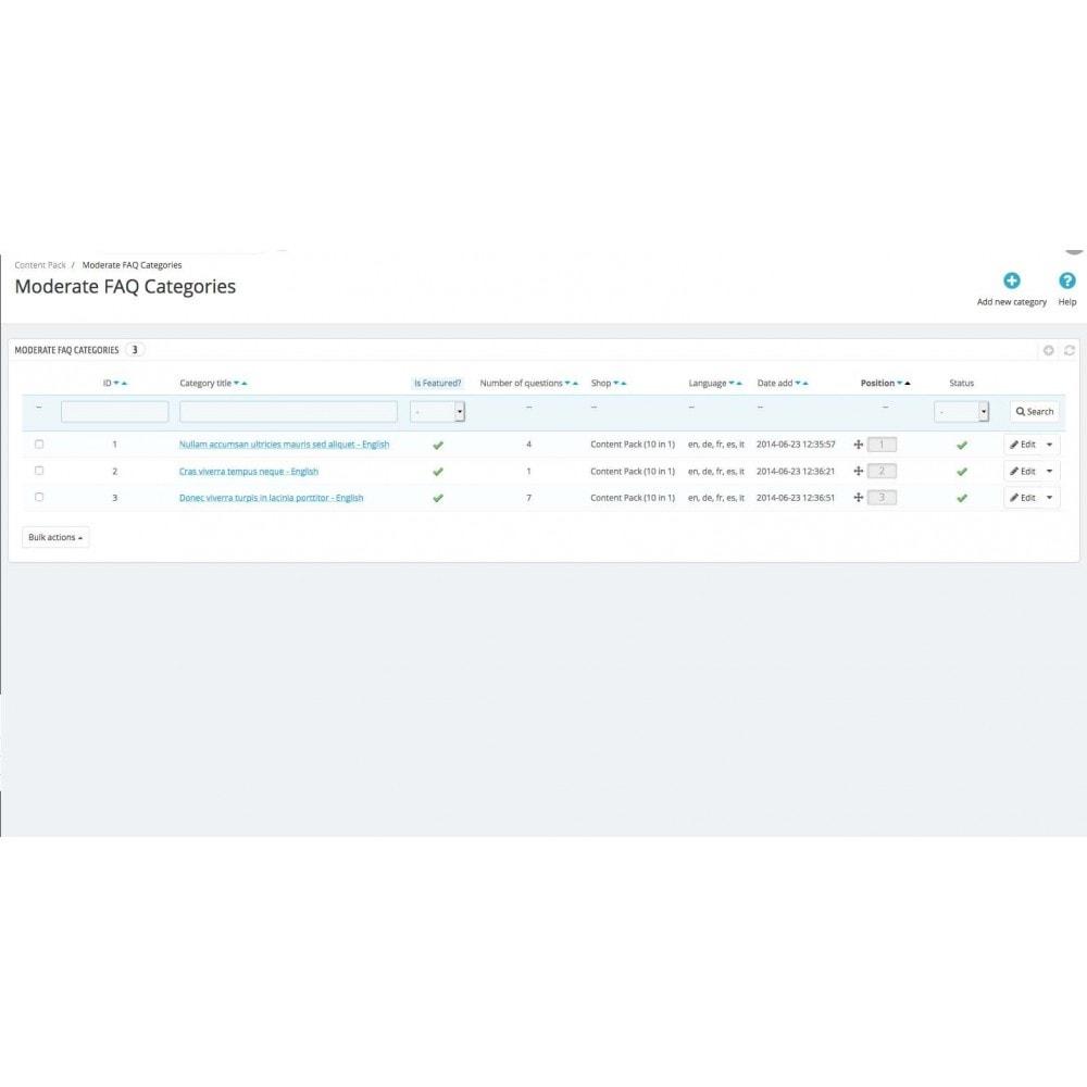 module - Gestion de contenu - Content management - 72