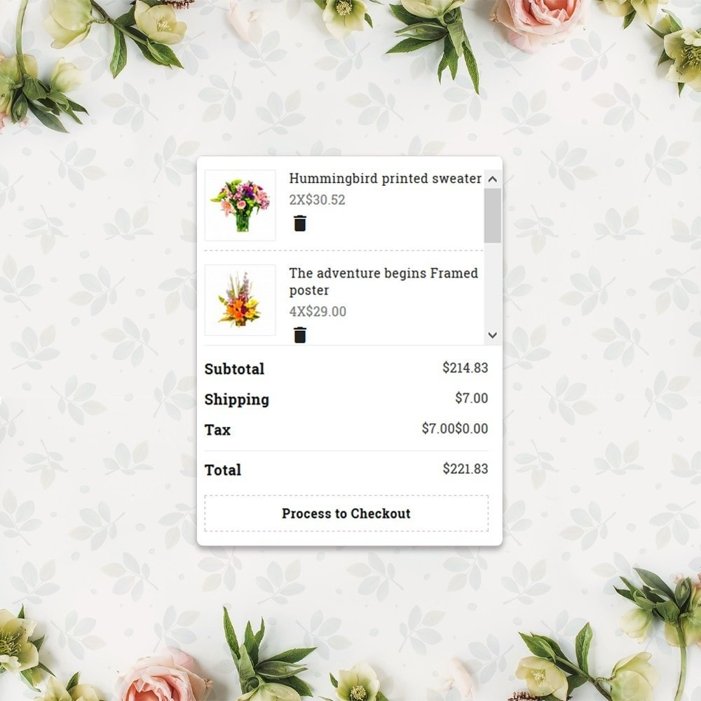 theme - Gifts, Flowers & Celebrations - Flower Store  - Floralle Responsive Template - 10