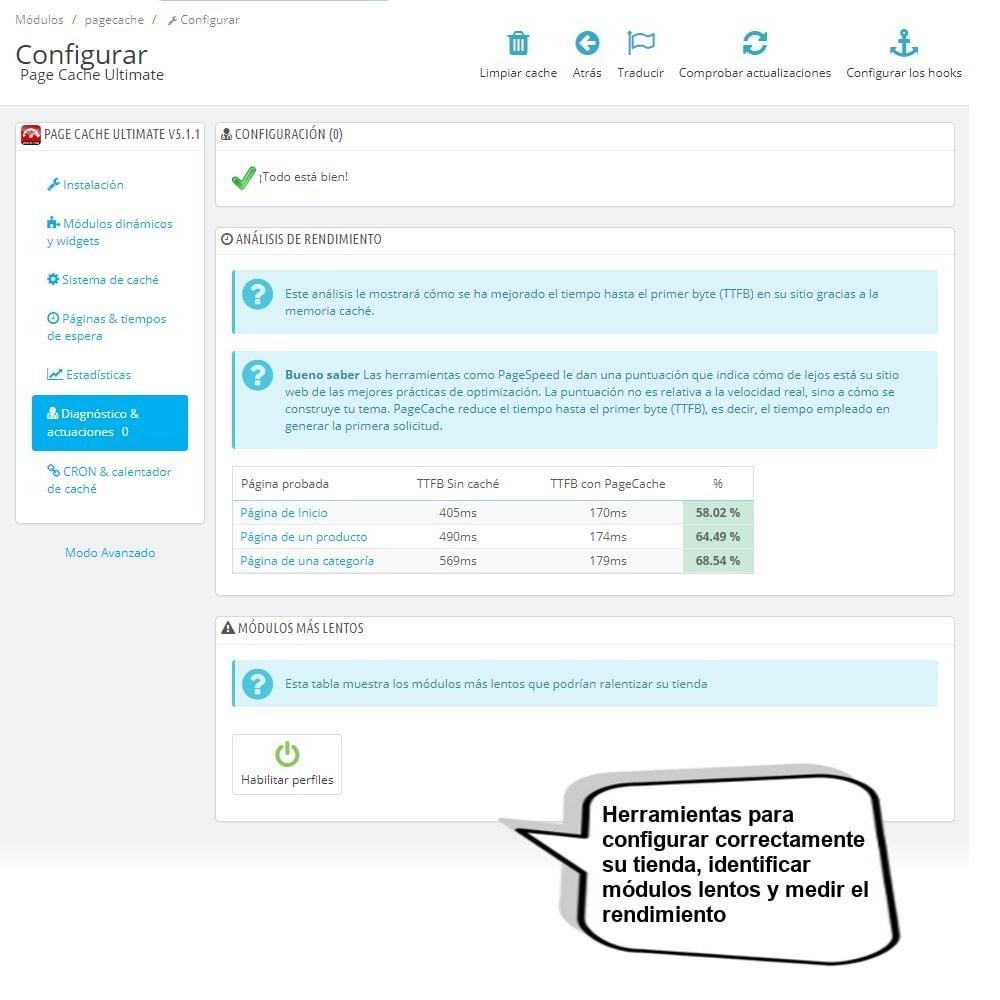 module - Rendimiento del sitio web - Page Cache Ultimate - 7