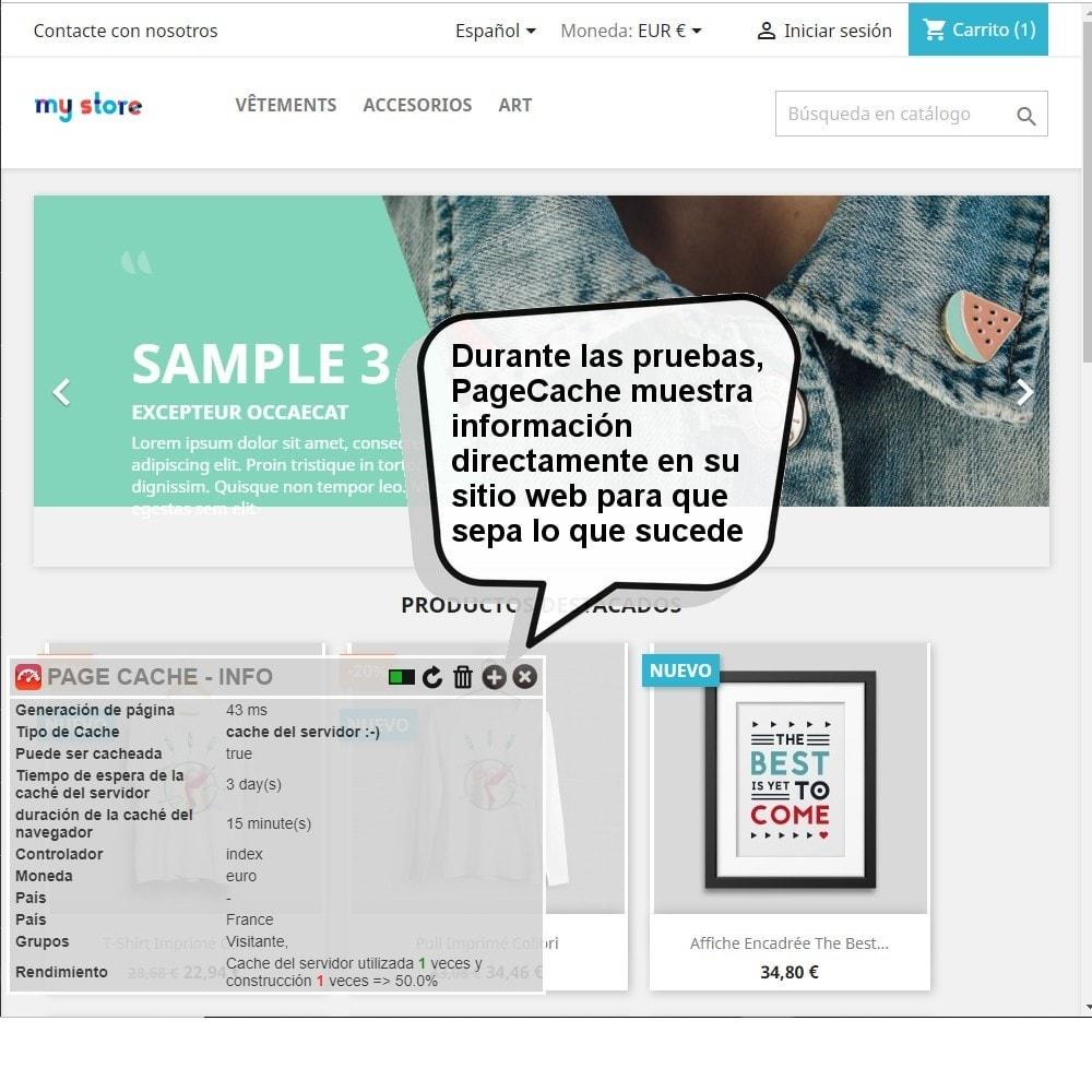 module - Rendimiento del sitio web - Page Cache Ultimate - 8