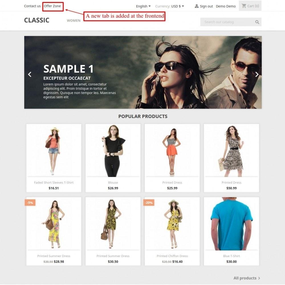 module - Promotions & Cadeaux - Collection intelligente - 5