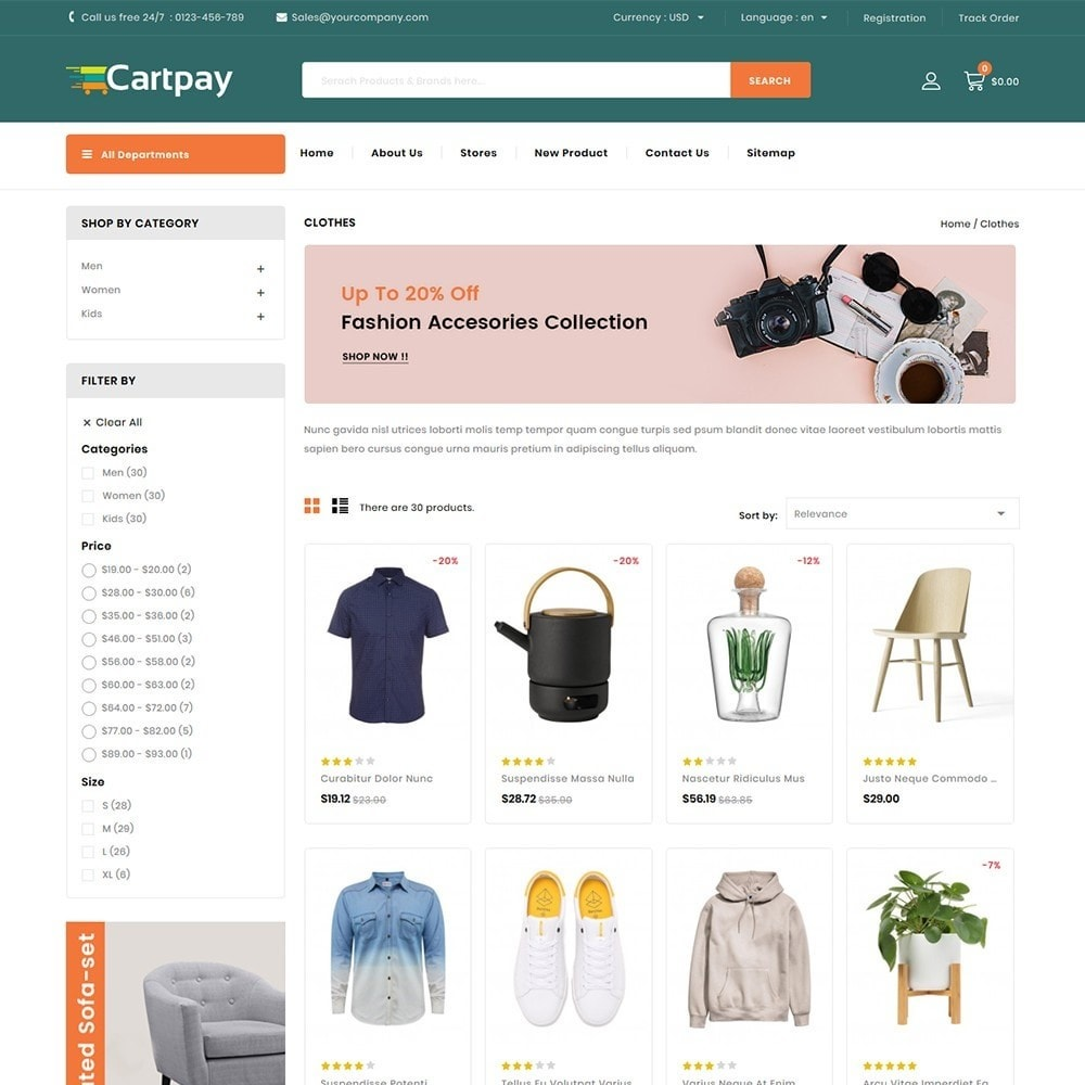 theme - Electronics & Computers - Cartpay - Mega Store - 3