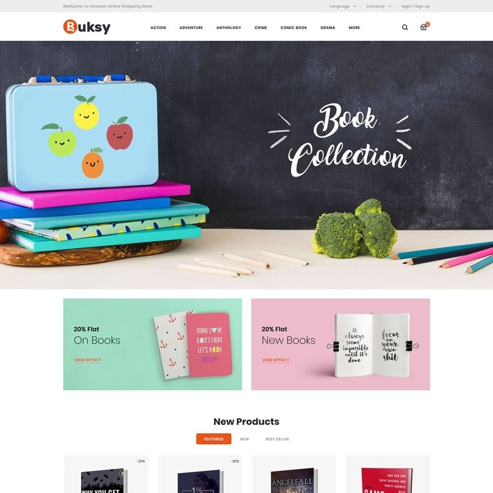 theme - Cadeaus, Bloemen & Gelegenheden - Buksy - Books & Stationery Shop - 2
