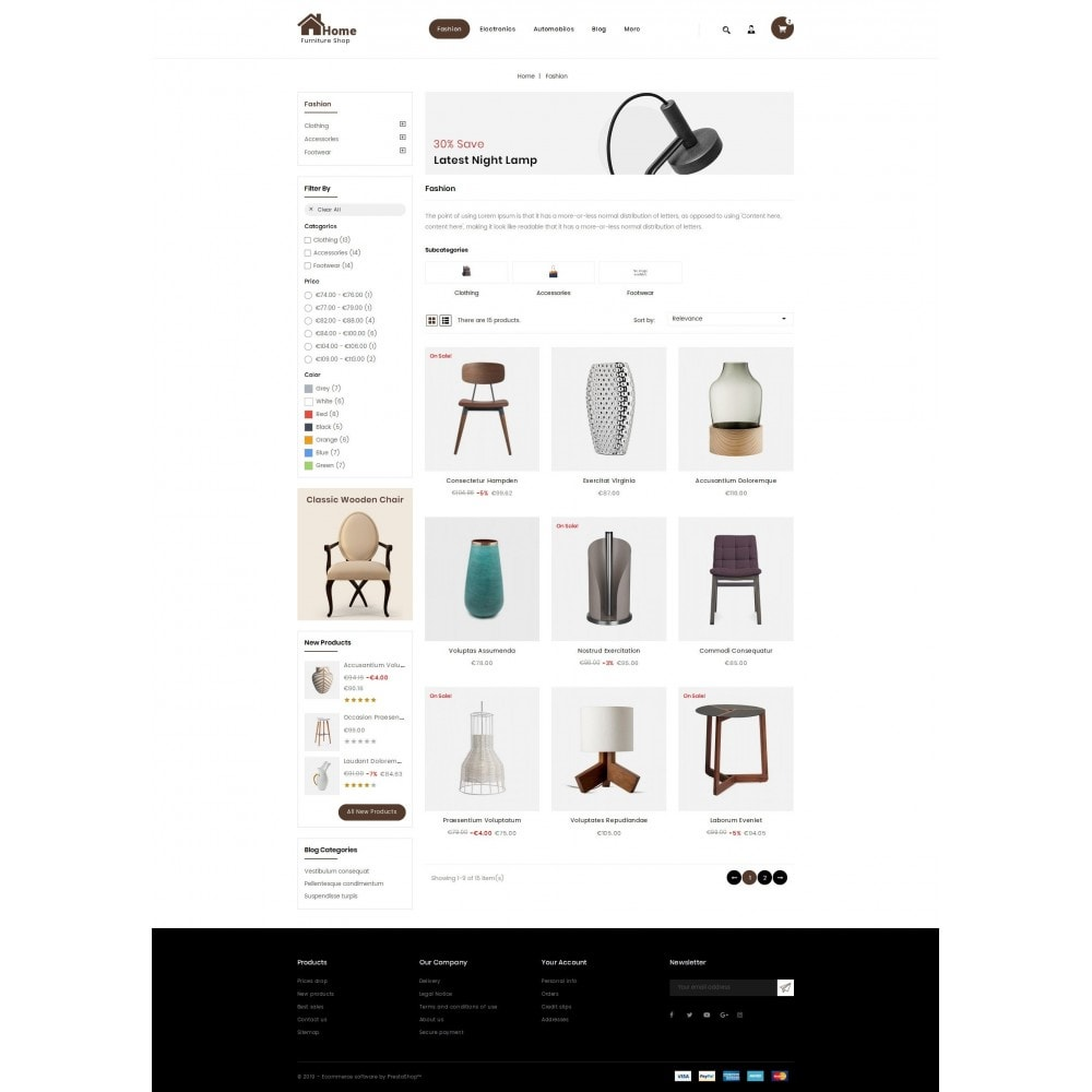 theme - Maison & Jardin - Home - Furniture store - 3