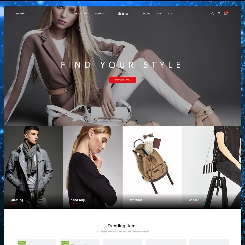 theme - Fashion & Shoes - Ap Sane - 3