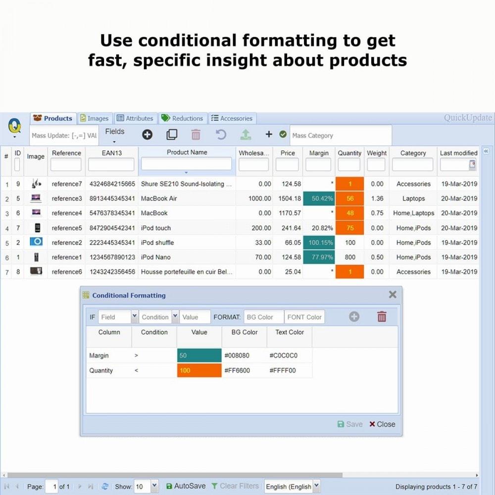 module - Quick Eingabe & Massendatenverwaltung - QuickUpdate Products Manager PRO - 9