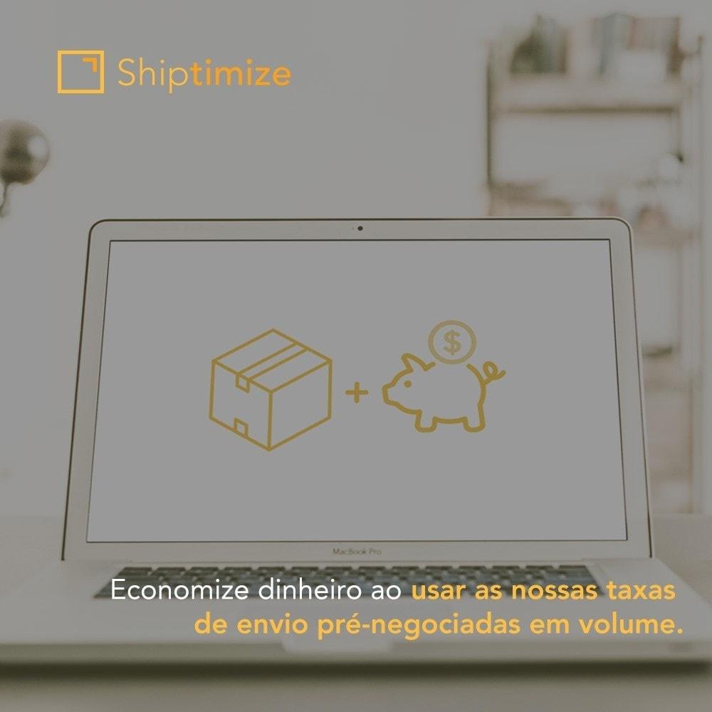 module - Transportadoras - Shiptimize - Digital Delivery Management - 2