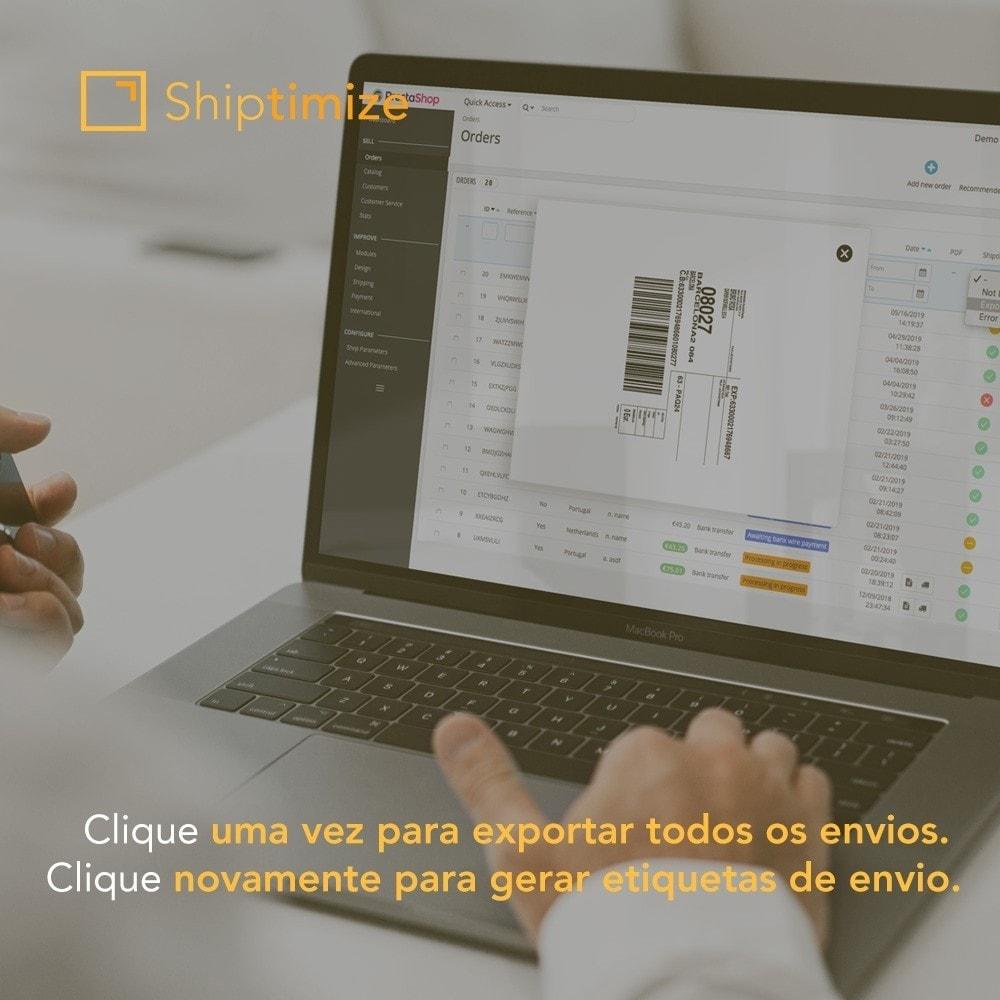 module - Transportadoras - Shiptimize - Digital Delivery Management - 3