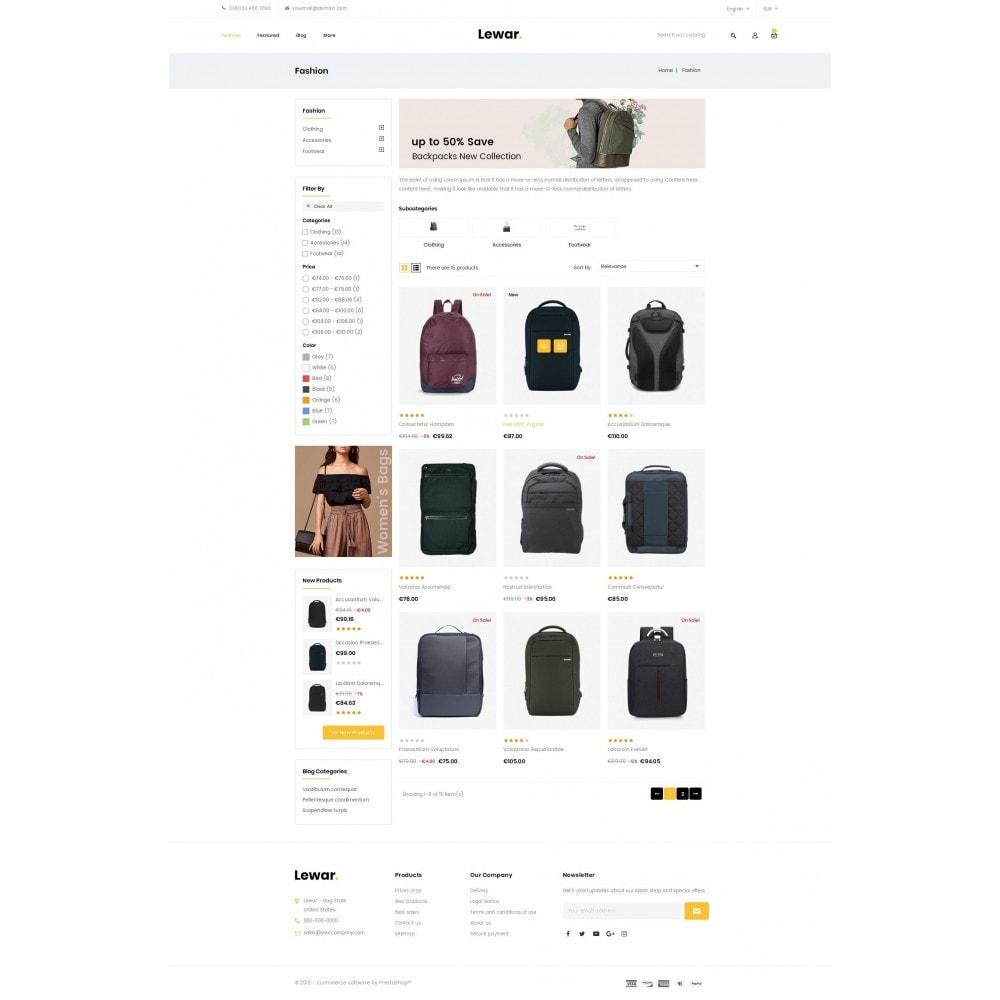 theme - Мода и обувь - Lewar Bag Store - 4