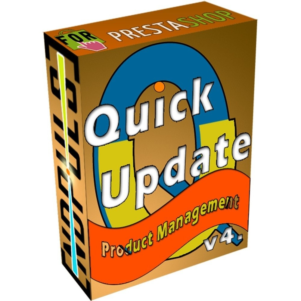 module - Snelle & seriematige bewerking - QuickUpdate Products Manager - 1