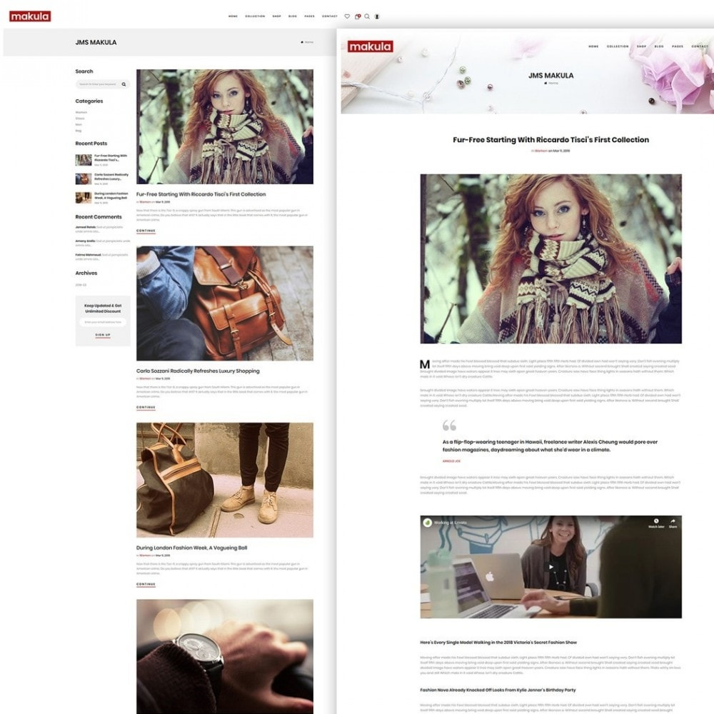 theme - Fashion & Shoes - Makula - Premium Fashion Theme - 5