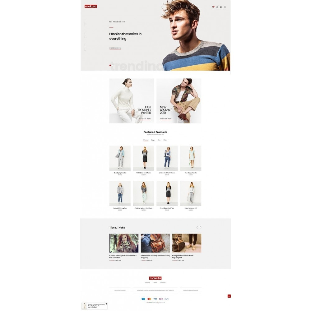 theme - Fashion & Shoes - Makula - Premium Fashion Theme - 7