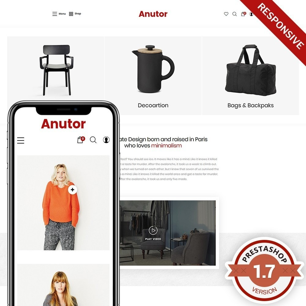 theme - Dom & Ogród - Anutor - Premium Decor Theme - 1