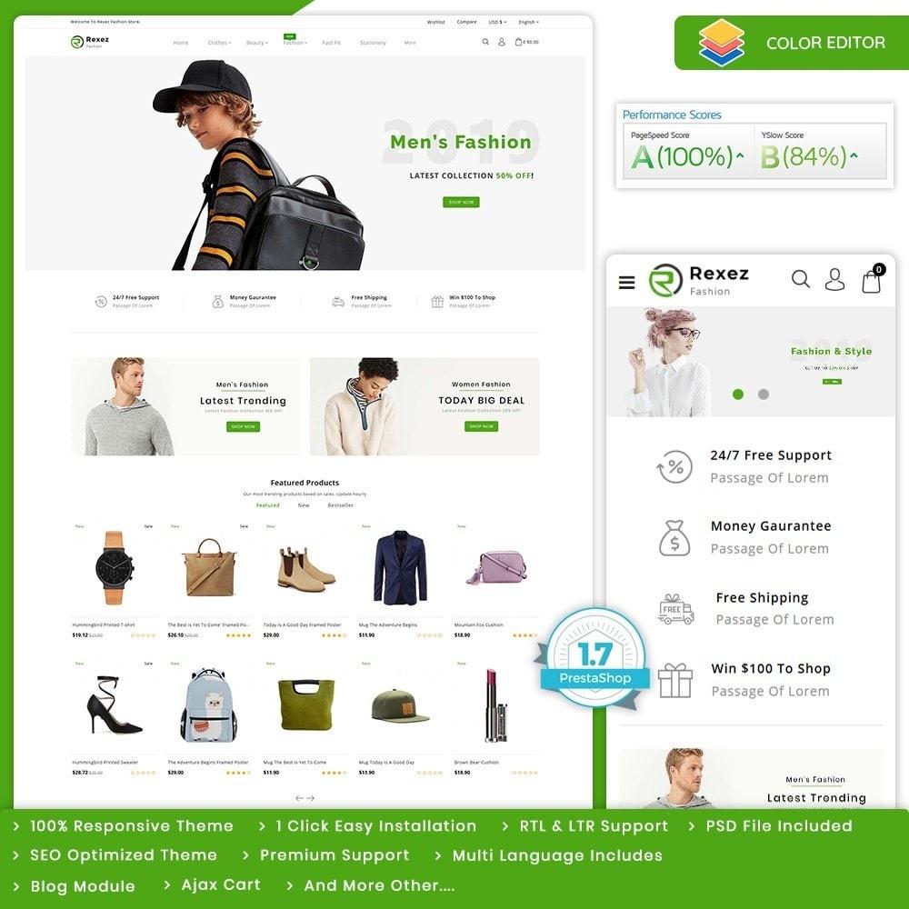 theme - Fashion & Shoes - Rexez - The Best Fashion Store - 1