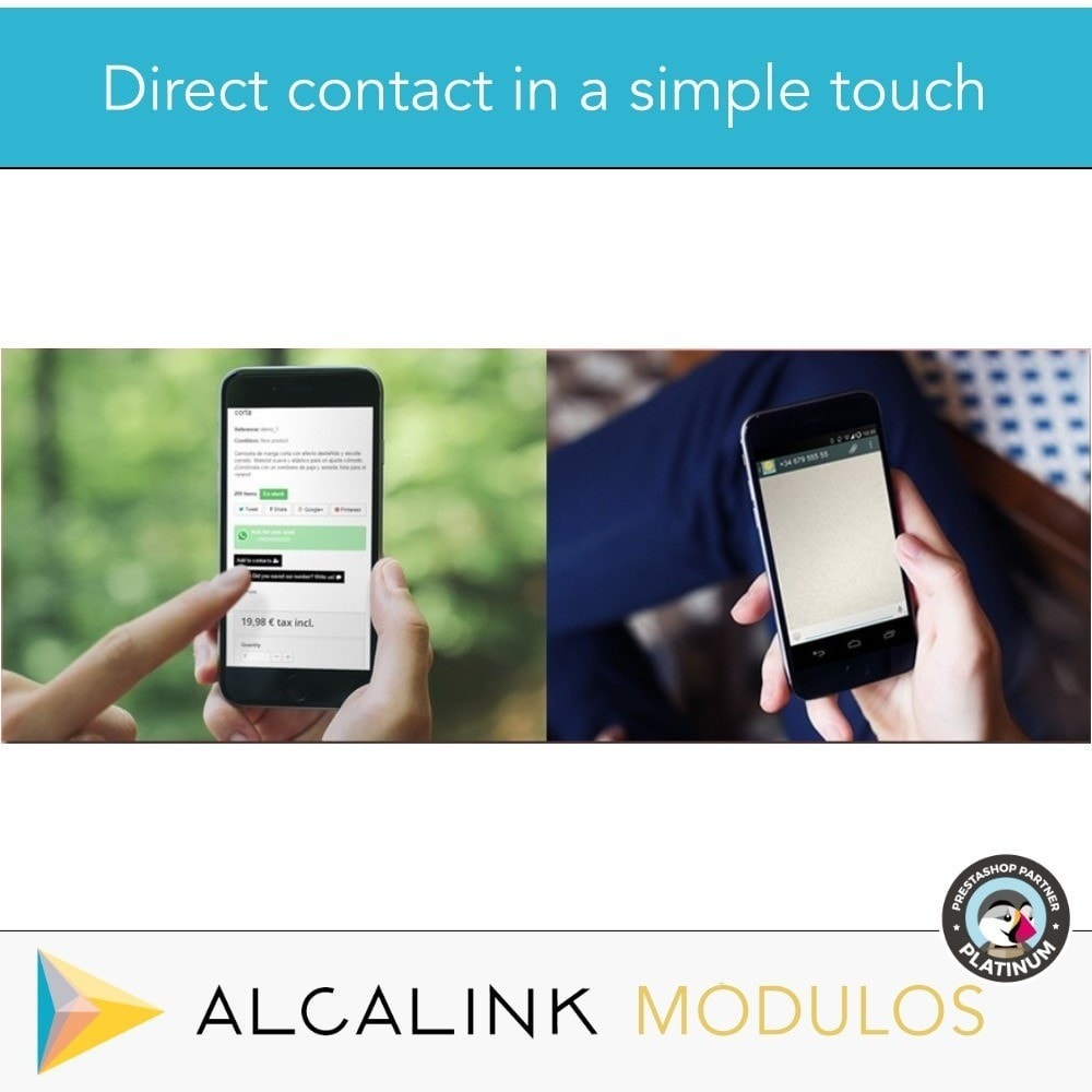 module - Suporte & Chat on-line - Contact for WhatsApp on 1 Click - 7