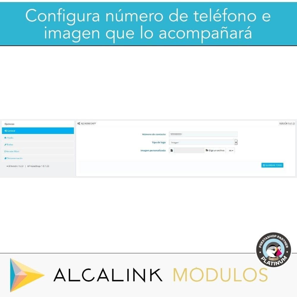 module - Asistencia & Chat online - Contacto por WhatsApp en 1 Clic - 2