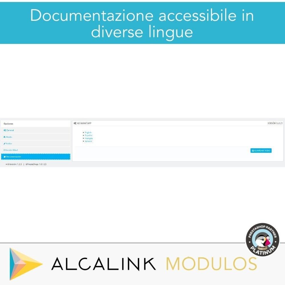 module - Supporto & Chat online - Contattare da WhatsApp in 1 clic - 6