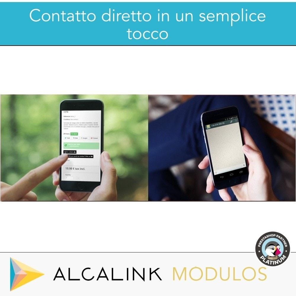 module - Supporto & Chat online - Contattare da WhatsApp in 1 clic - 7