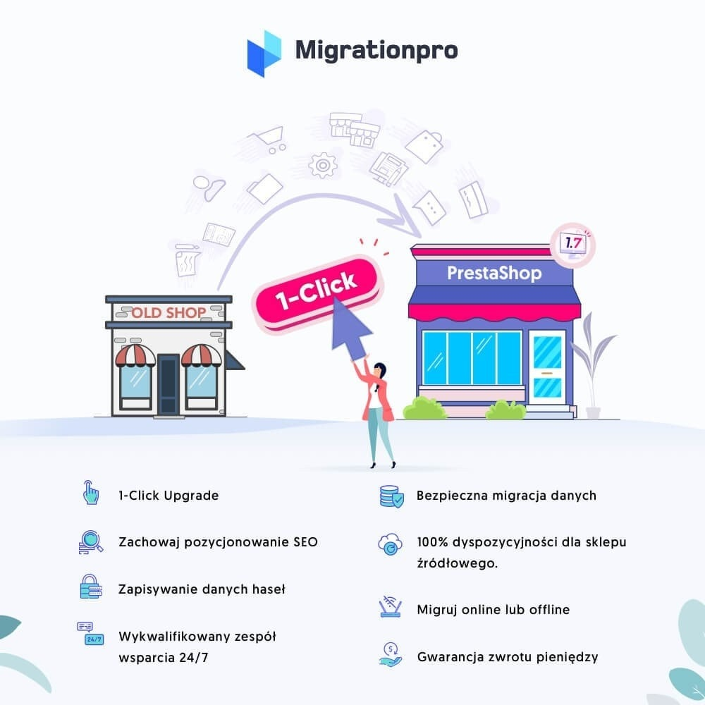module - Migracja & Backup - Narzędzie Prestashop do Aktualizacji i Migracji - 1