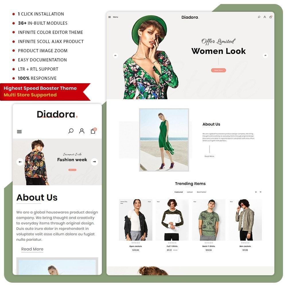 theme - Fashion & Shoes - Diadora Fashion Big Mall - 1