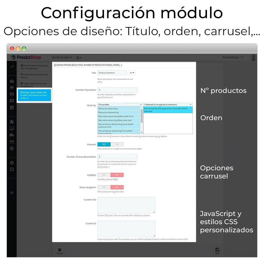 module - Sliders y Galerías de imágenes - Carrusel y slider de productos - 8