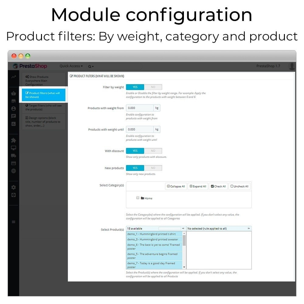module - Additional Information & Product Tab - Show products everywhere - 5
