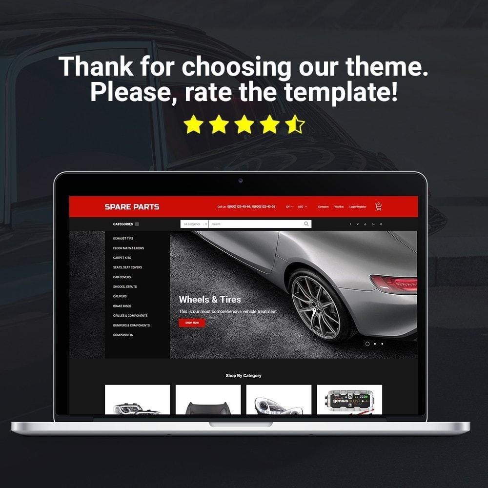 theme - Automotive & Cars - Automobile - Spare Parts Store - 2