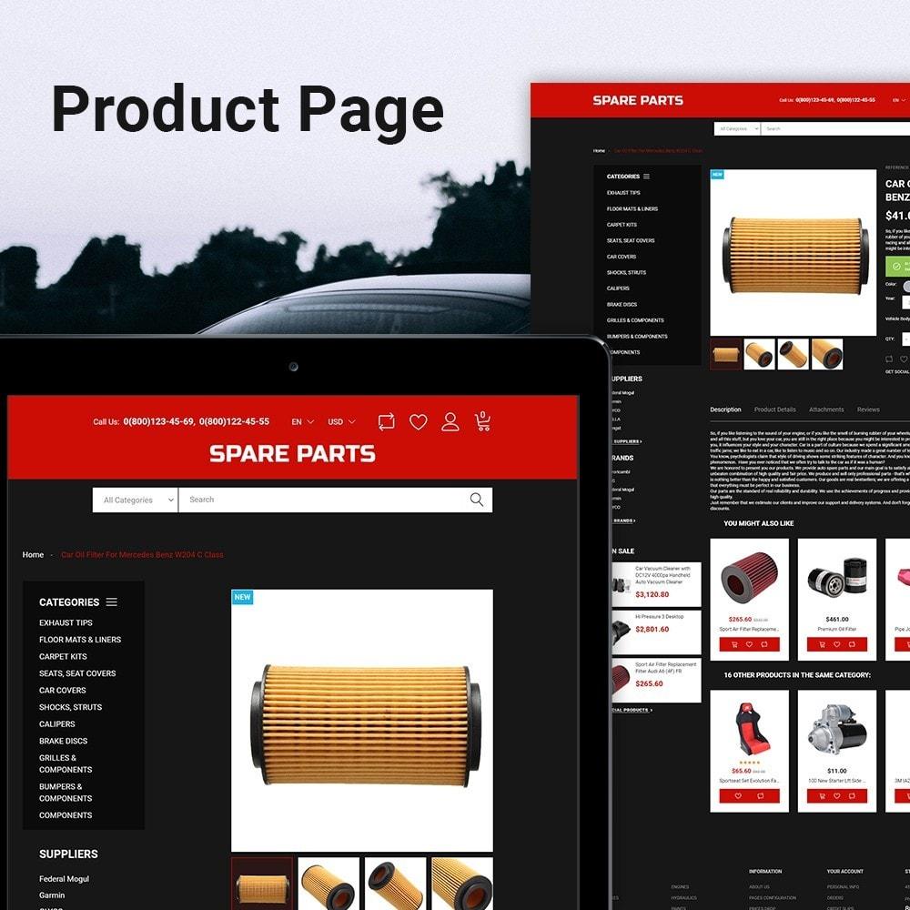 theme - Automotive & Cars - Automobile - Spare Parts Store - 4