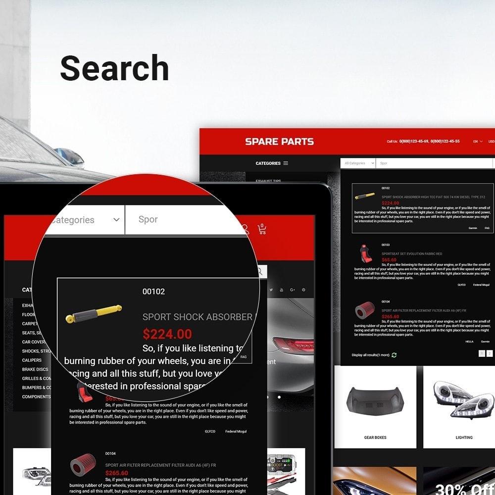 theme - Automotive & Cars - Automobile - Spare Parts Store - 5