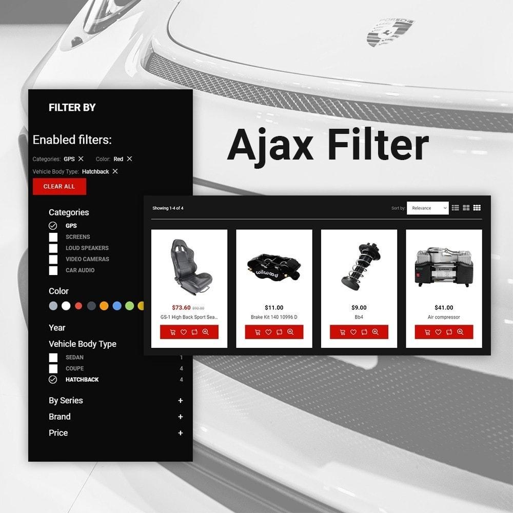 theme - Automotive & Cars - Automobile - Spare Parts Store - 6