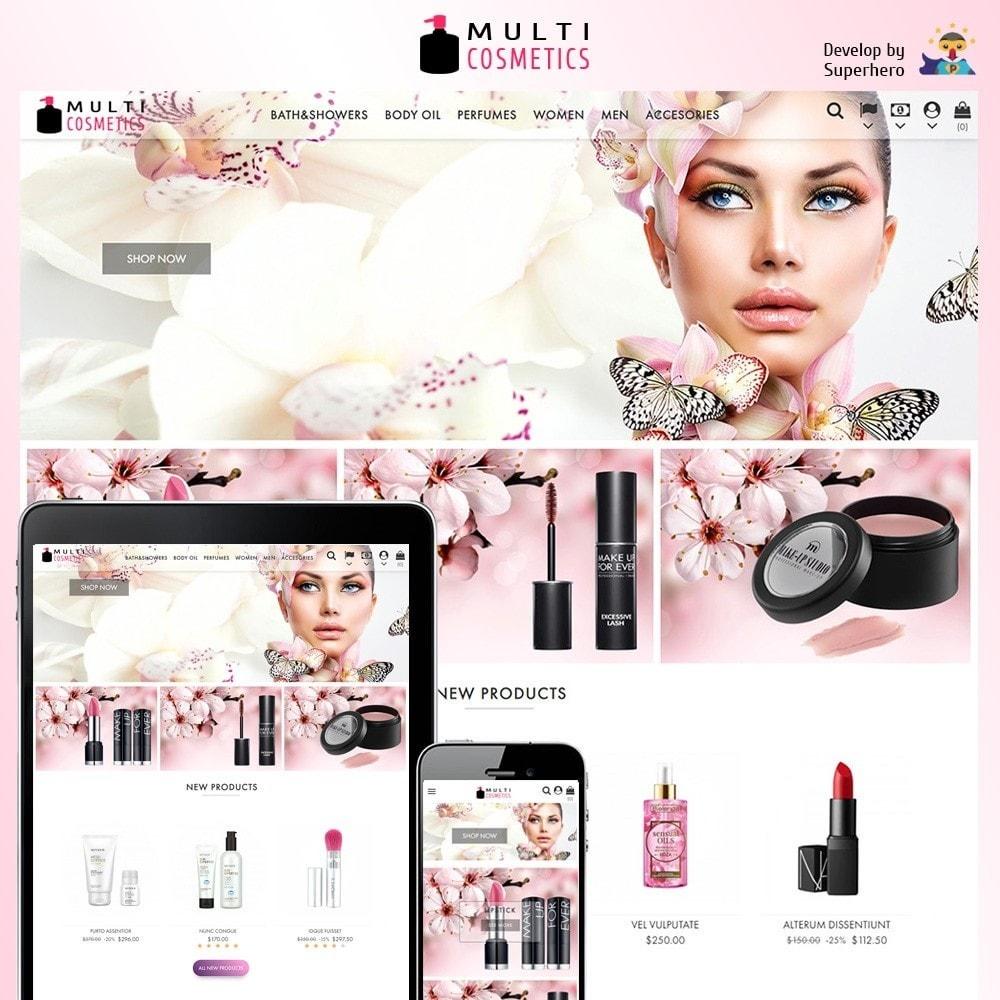 theme - Health & Beauty - Multi Cosmetics - 1