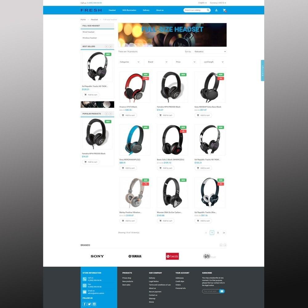 theme - Elektronik & High Tech - Fast Fresh electronics store - 5
