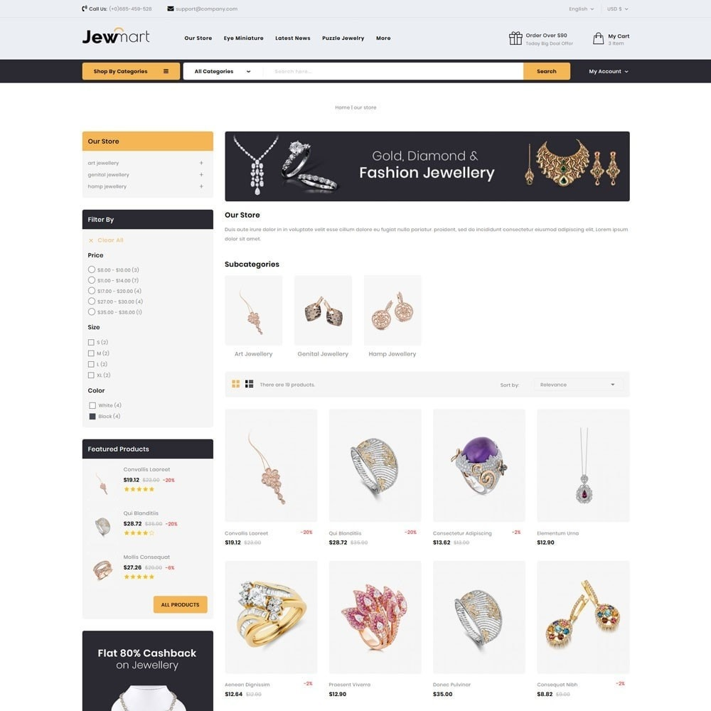 theme - Jewelry & Accessories - Jewmart - The Jewelry Store - 5