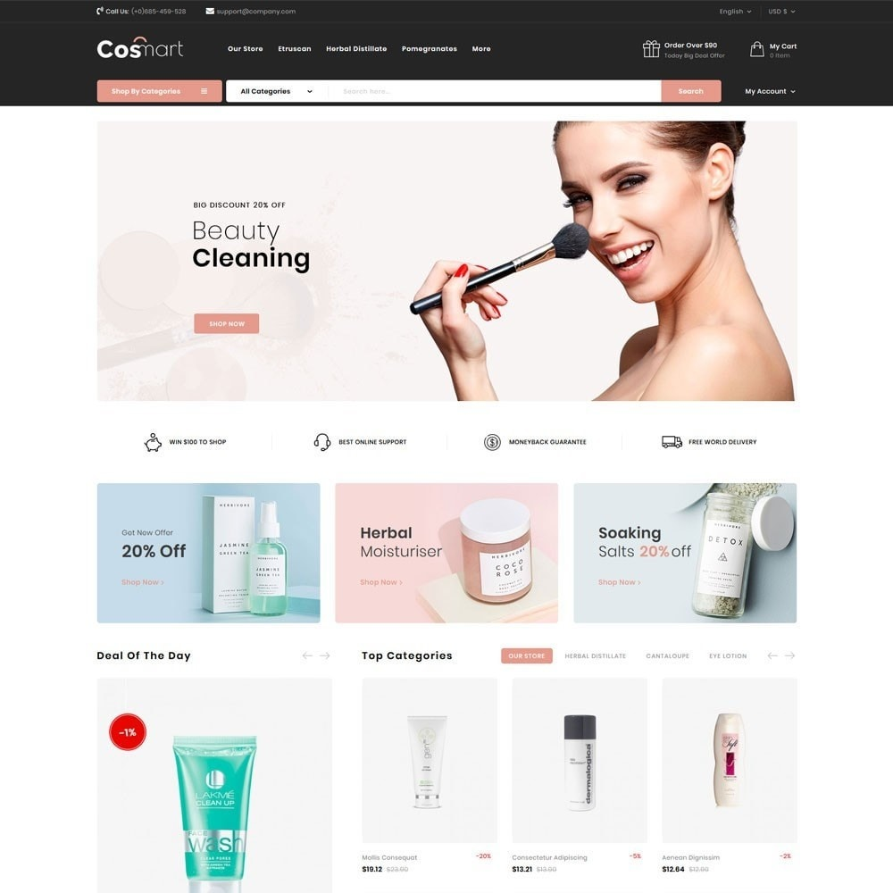 theme - Jewelry & Accessories - Cosmart - The Cosmetic Mega Store - 4