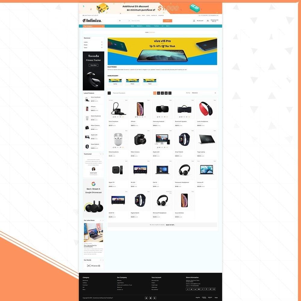 theme - Elektronik & High Tech - Infiniza - Electronics Big Store - 3