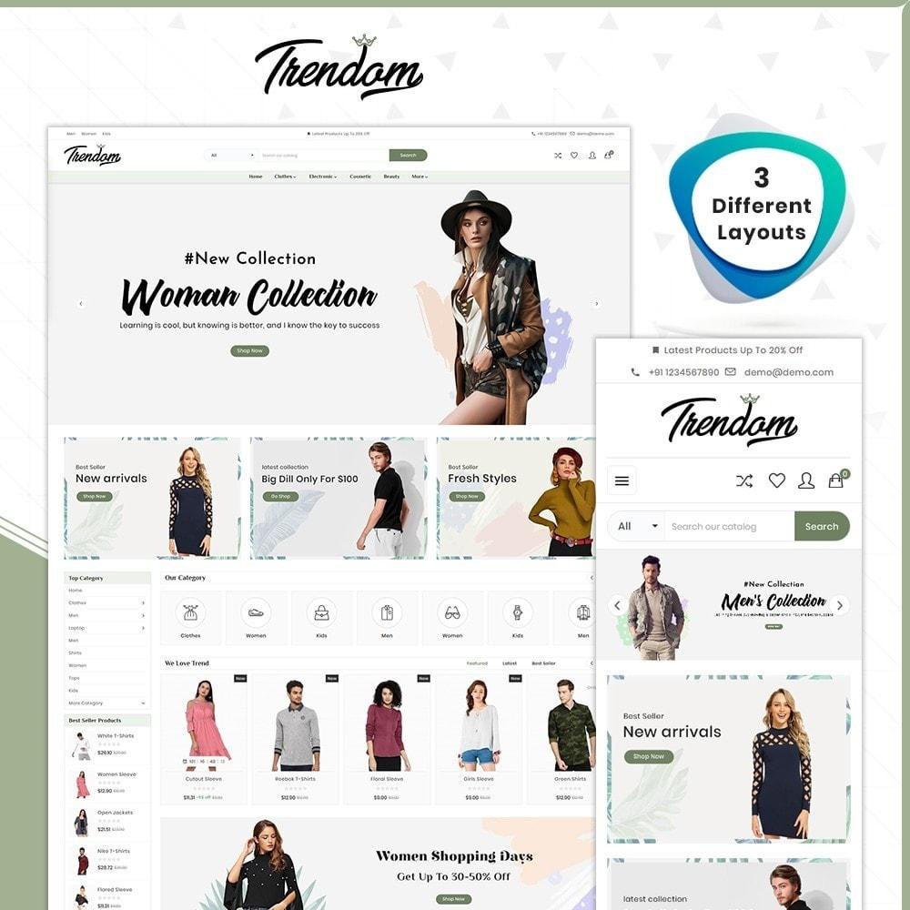 theme - Fashion & Shoes - Femmes - Style Fashion Store - 1