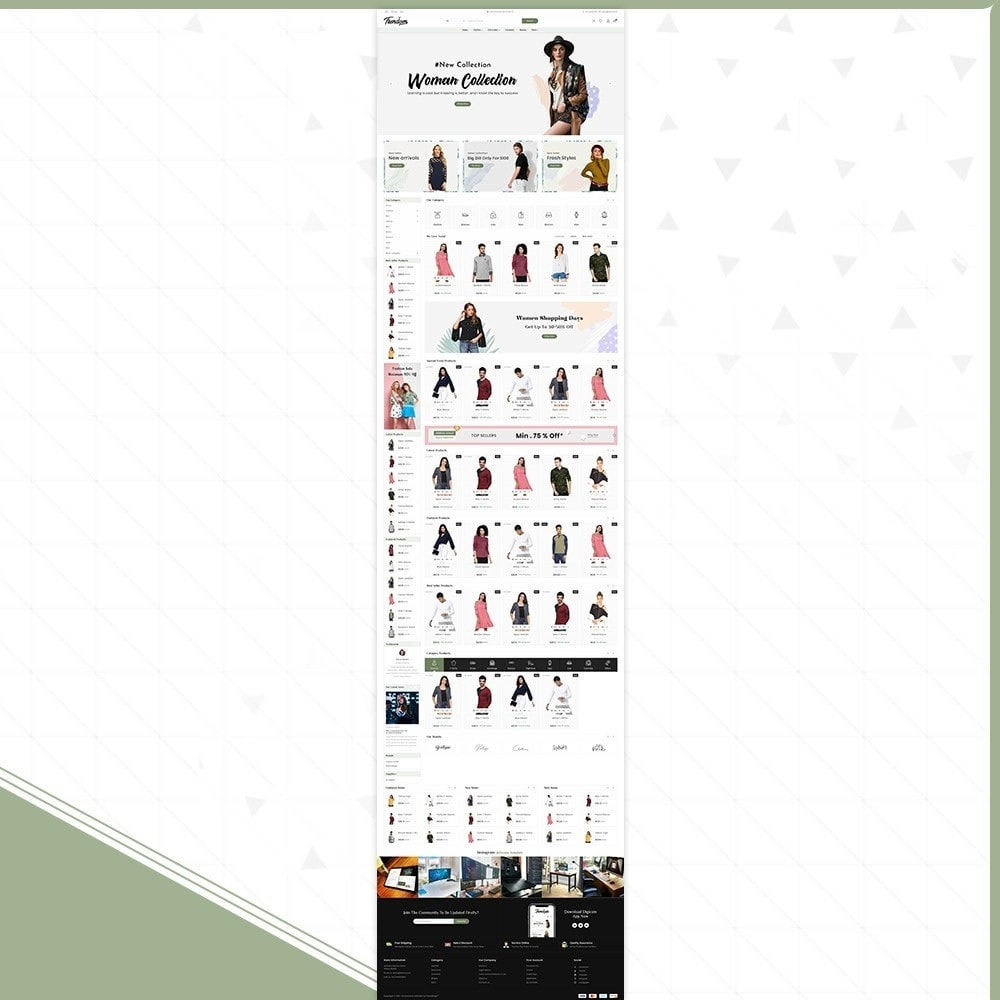 theme - Fashion & Shoes - Mode Femmes - Fashion Mall - 2