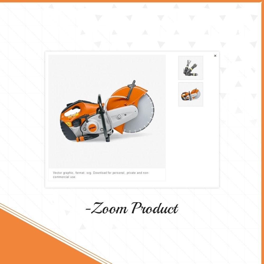 theme - Automotive & Cars - Outils Presicion - Tools Shop - 6